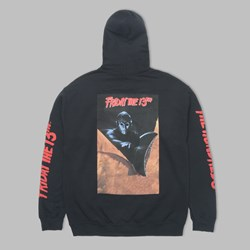 THE HUNDREDS X FRIDAY THE 13TH SPLIT HOOD BLACK