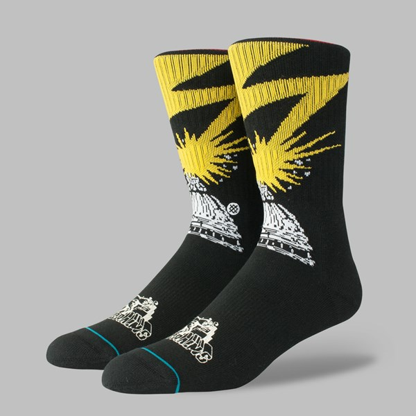 STANCE SOCKS 'BAD BRAINS' BLACK