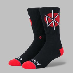 STANCE SOCKS 'DEAD KENNEDYS' BLACK