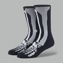 Stance Kids Socks Old Bones Black