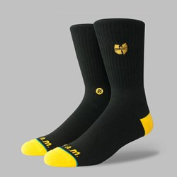 STANCE SOCKS WU-TANG PATCH BLACK