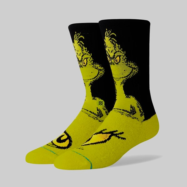 STANCE SOCKS 'THE GRINCH' GREEN