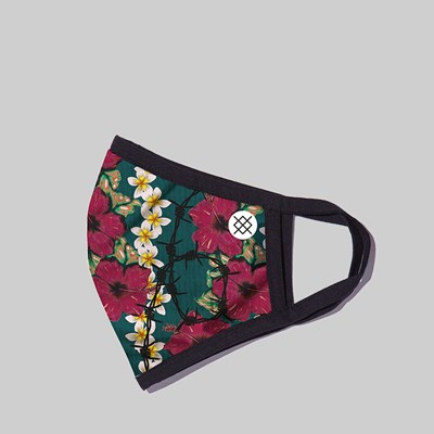 STANCE BARRIER REEF WASHABLE FACE MASK GREEN