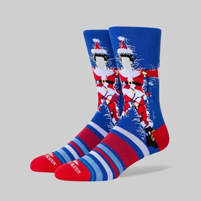 STANCE SOCKS X CHRISTMAS VACATION BLUE