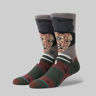 STANCE X LEGENDS OF HORROR 'FREDDY' SOCK BLACK