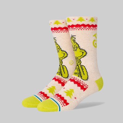 STANCE SOCKS X THE GRINCH 'SWEATER' CANVAS