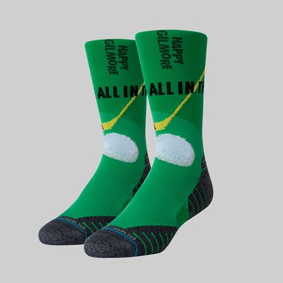 STANCE SOCKS X HAPPY GILMORE IN THE HIPS GREEN