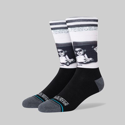STANCE SOCKS X BEASTIE BOYS 'ILL COMMUNICATION' BLACK