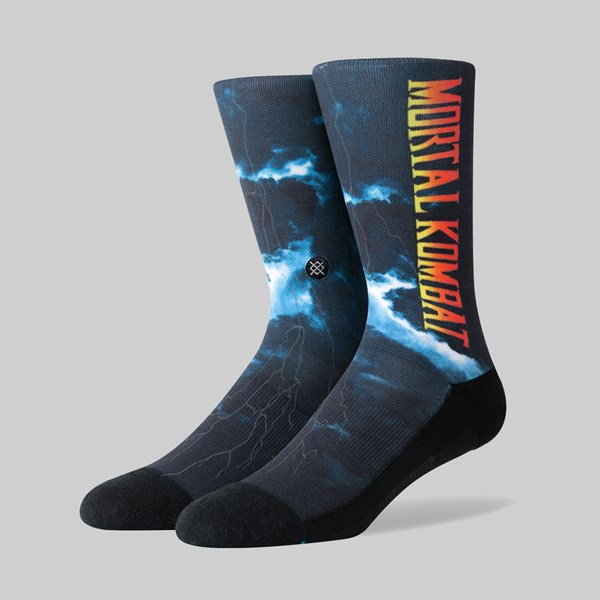 STANCE SOCKS MORTAL COMBAT II BLACK