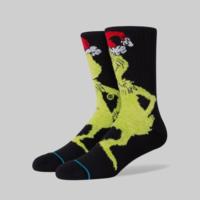 STANCE SOCKS X THE GRINCH 'MR GRINCH' BLACK