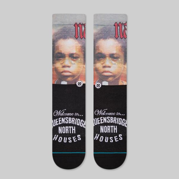 STANCE LEGENDS NAS SOCKS BLACK