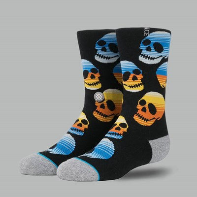 Stance Kids Socks Ocho Black