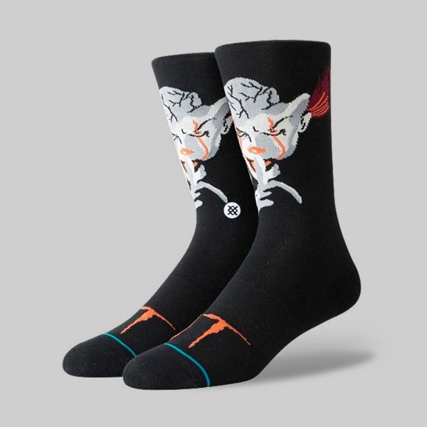 STANCE SOCKS X IT 'PENNYWISE' BLACK