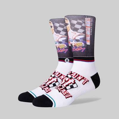 STANCE SOCKS X TALLADEGA NIGHTS 'FIRST YOUR LAST' WHITE