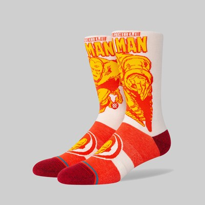 STANCE SOCKS X MARVEL 'IRON MAN MARQUEE' RED