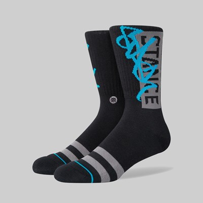 STANCE SOCKS X STASH 'OG' BLACK