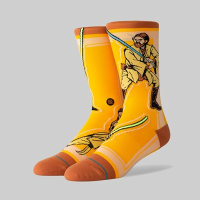 STANCE SOCKS X STAR WARS 'JEDI' YELLOW