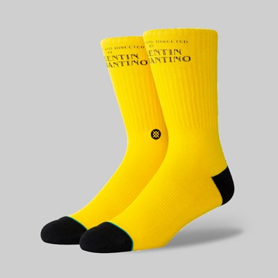 STANCE SOCKS X TARANTINO 'KILL BILL' YELLOW