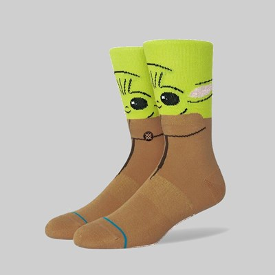 STANCE SOCKS X THE MANDALORIAN 'THE BOUNTY' GREEN