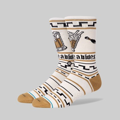 STANCE SOCKS X THE BIG LEBOWSKI 'THE DUDE' TAN