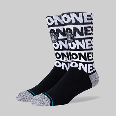 STANCE SOCKS X THE RAMONES LIFESTYLE BLACK