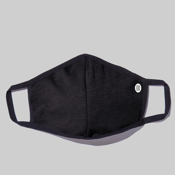 STANCE REVERSIBLE VOID TIDE WASHABLE FACE MASK BLACK