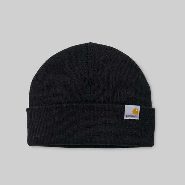 CARHARTT STATUS HAT LOW BLACK