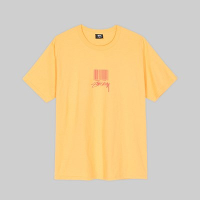 STUSSY BARCODE SS T-SHIRT ORANGE