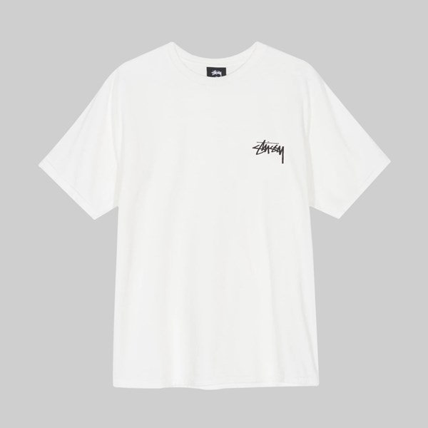 STUSSY DAYDREAM PIG DYED SS T-SHIRT NATURAL