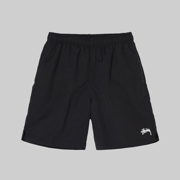STUSSY STOCK WATER SHORT BLACK