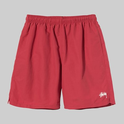 STUSSY STOCK WATER SHORT RED