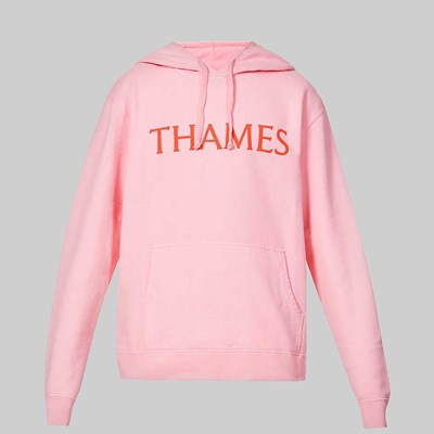 THAMES MMXX HABIBI HOODED SWEAT ROSE
