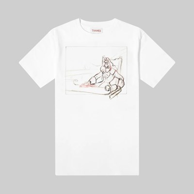 THAMES MMXX HOOK SS T-SHIRT WHITE