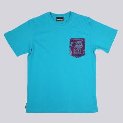 The Hundreds Geo Pocket T Shirt Purple Geo