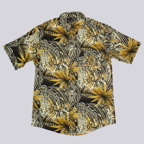 The Quiet Life Plains Short Sleeve Shirt Multi Color Print