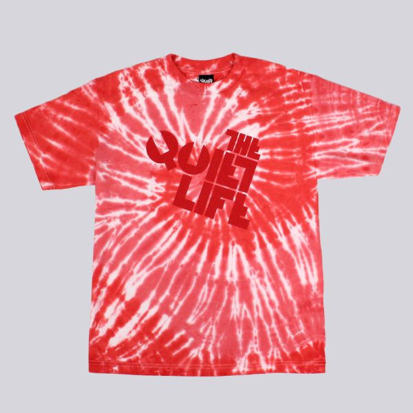 The Quiet Life Swirl Logo T Shirt Red