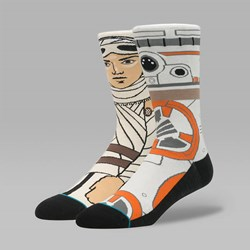 STANCE X STAR THE RESISTANCE SOCKS TAN