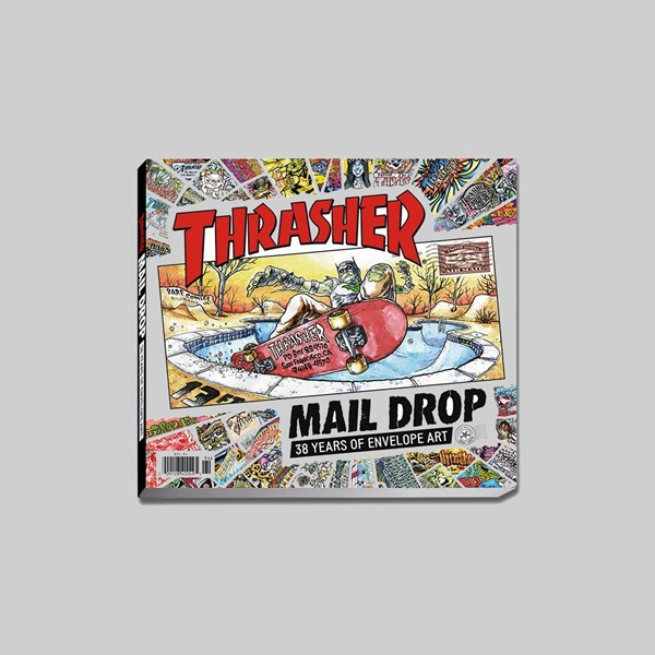 THRASHER 'MAIL DROP' BOOK (LIMITED EDITION)