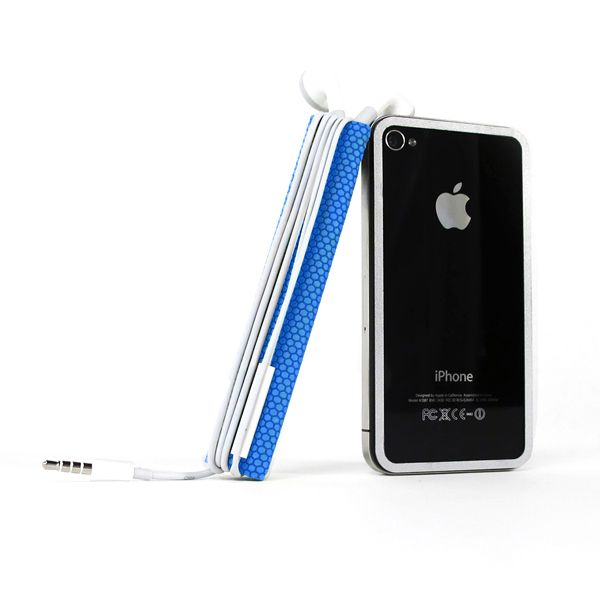 TidyTilt For iPhone 4/4S Blue