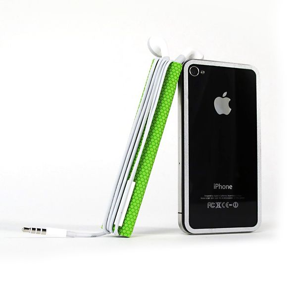 TidyTilt For iPhone 4/4S Green