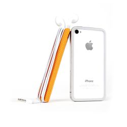 TidyTilt For iPhone 4/4S Orange