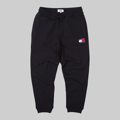 TOMMY JEANS BADGE JOGGER PANT TOMMY BLACK