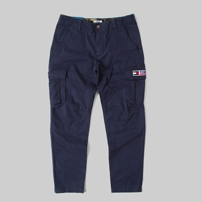 TOMMY JEANS STRAIGHT CARGO PANT TWILIGHT NAVY