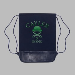 Cayler & Sons Triangle Of Trust Gymbag Navy-Green