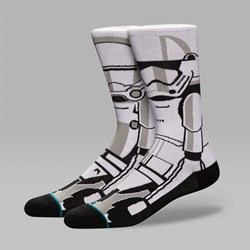 STANCE X STAR WARS TROOPER 2 SOCKS WHITE