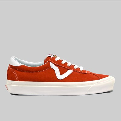 VANS STYLE 73 DX ANAHEIM FACTORY OG RED SUEDE