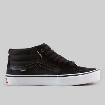 VANS X ANTI HERO SK8 MID PRO GROSSO BLACK
