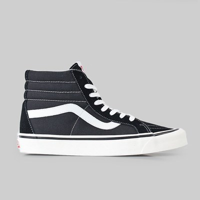 VANS SK8-HI 38 DX (ANAHEIM FACTORY) BLACK TRUE WHITE