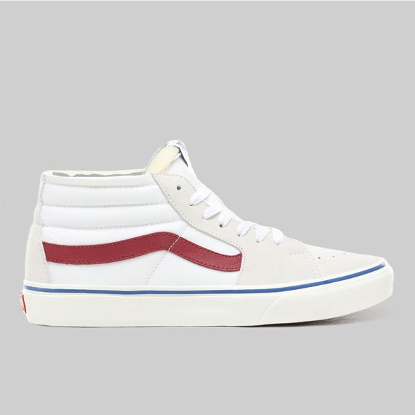 VANS SK8 MID FOAM ANAHEIM FACTORY TRUE WHITE