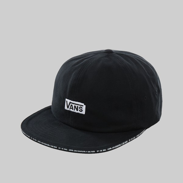VANS X BAKER SKATEBOARDS CAP BLACK